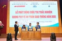 Bạn Bùi Thị Thu Trang giành giải Nhất tuần 1 Cuộc thi trắc nghiệm Chung tay vì an toàn giao thông