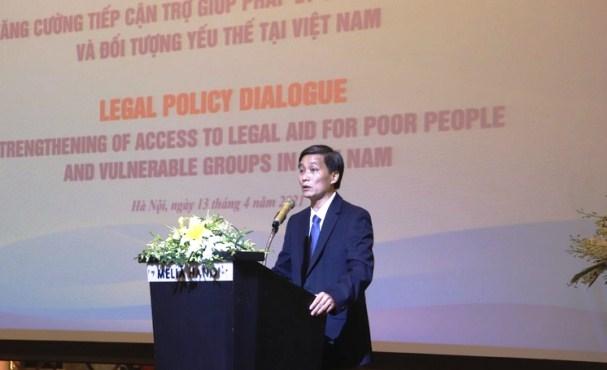Nâng cao năng lực cung cấp dịch vụ trợ giúp pháp lý cho người dân