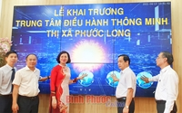 Khai trương Trung tâm Điều hành thông minh thị xã Phước Long