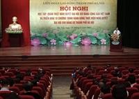 Đợt sinh hoạt chính trị trọng tâm năm 2021 của các cấp Công đoàn Hà Nội