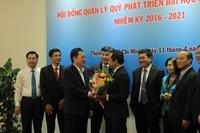 PGS TS Vũ Hải Quân làm Chủ tịch Hội đồng Quản lý Quỹ Phát triển ĐHQG TPHCM