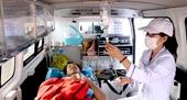 Kịp thời cứu nạn thuyền viên tàu cá bị bệnh nguy hiểm