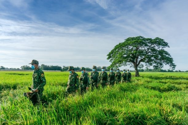Bộ đội Biên phòng An Giang quyết tâm phòng, chống xuất, nhập cảnh trái phép