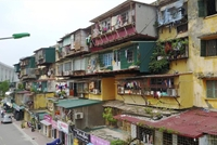 Hà Nội sẽ kiểm định chất lượng chung cư cũ