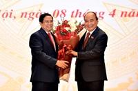 Điện mừng Lãnh đạo Cấp cao Việt Nam