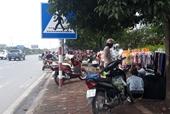 Sớm dẹp bỏ chợ cóc nguy hiểm trên quốc lộ 21B Nam Định - Phủ Lý