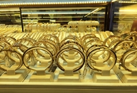 Cuối tuần, giá vàng thế giới tiếp tục tăng cao
