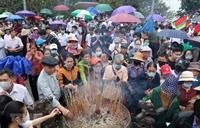 Hơn 60 000 lượt khách thập phương về tri ân các Vua Hùng