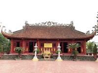 Đền thờ Thủy Tổ Quốc Mẫu trên đất Tổ
