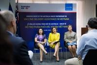 UNICEF và Australia hỗ trợ Việt Nam trong chương trình tiêm chủng vaccine COVID-19