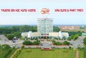 Trường Đại học Hùng Vương Thông báo tuyển sinh năm 2021