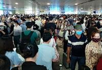 Khẩn trương giải quyết ùn tắc tại Cảng HKQT Tân Sơn Nhất