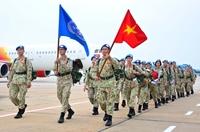 Bệnh viện Dã chiến cấp 2 số 3 xuất quân làm nhiệm vụ quốc tế