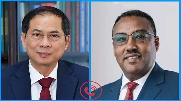 Ethiopia coi trọng thúc đẩy quan hệ hữu nghị và hợp tác nhiều mặt với Việt Nam