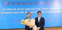 Bổ nhiệm đồng chí Vũ Hải Quân làm Giám đốc Đại học Quốc gia TP Hồ Chí Minh