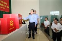 Kiểm tra, giám sát công tác bầu cử tại Đồng Nai
