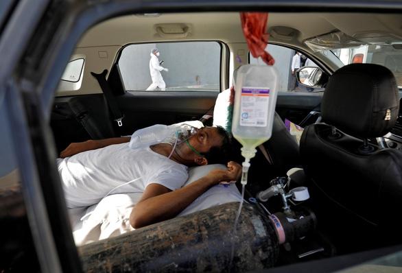Ấn Độ lập kỷ lục toàn cầu về số ca nhiễm mới