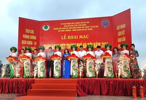 Khai mạc Tuần hàng Việt thành phố Hà Nội năm 2021