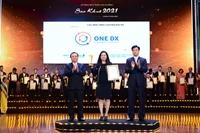 Nền tảng chuyển đổi số doanh nghiệp ONE DX nhận Giải thưởng Sao Khuê 2021