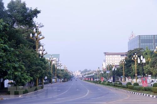 Dịch COVID-19 Lào tăng cường phong tỏa nhiều tỉnh thành
