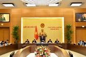 Bế mạc Phiên họp thứ 55 của Ủy ban Thường vụ Quốc hội