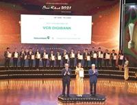VCB Digibank của Vietcombank được vinh danh tại Lễ trao giải thưởng Sao Khuê 2021