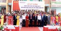 Trường Tiểu học Dĩnh Kế Bắc Giang  Phát huy truyền thống hiếu học của quê hương
