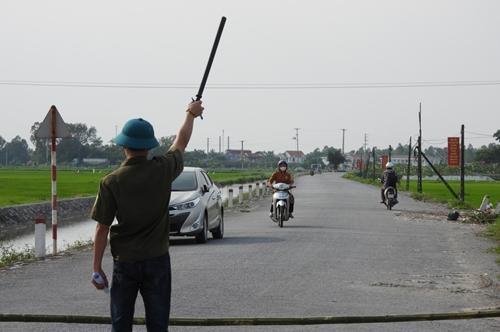 Hà Nam Kiểm soát nghiêm ngặt khu vực phong tỏa