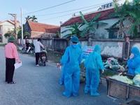 Thực hiện cách ly xã hội với xã Đạo Lý, huyện Lý Nhân, Hà Nam