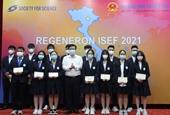 7 dự án của học sinh Việt Nam tham gia Hội thi Khoa học kỹ thuật quốc tế - ISEF 2021