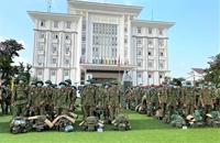 Tây Ninh tiếp nhận 258 chiến sĩ tăng cường phòng, chống dịch ở biên giới  