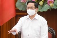 Thủ tướng yêu cầu chấn chỉnh phòng, chống dịch COVID-19