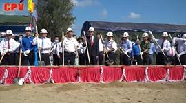 Lễ khởi công nhà ở Đại đội thông tin lữ đoàn 957