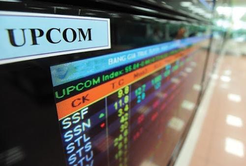 Thị trường UPCoM có chiều hướng sụt giảm