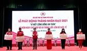 Hà Nội Tiếp nhận trên 11 tỷ đồng ủng hộ Tháng Nhân đạo năm 2021