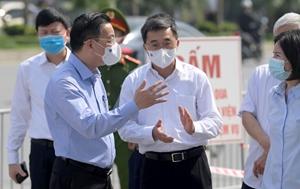 Hà Nội hỗ trợ hết sức để Bệnh viện K thực hiện tốt nhiệm vụ phong tỏa