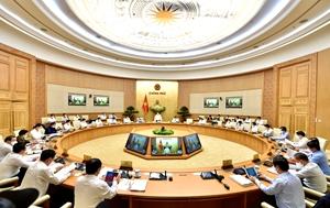 Nghị quyết phiên họp Chính phủ thường kỳ tháng 4 2021