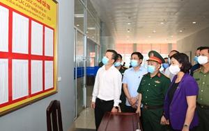 Tập trung cao độ phòng chống dịch để cuộc bầu cử diễn ra an toàn