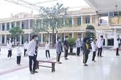 Nam Định cách ly tập trung 61 người tại trường THPT Lê Quý Đôn