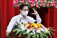 Thủ tướng Phạm Minh Chính tiếp xúc cử tri thành phố Cần Thơ