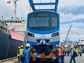 Dự án metro Bến Thành – Suối Tiên sắp nhận thêm 2 tàu mới