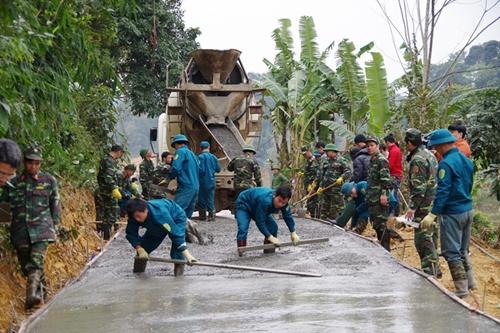 Đảng bộ Quân sự tỉnh Hòa Bình Lan tỏa việc học tập và làm theo gương Bác  