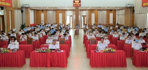 Đảng bộ Quân cảng Sài Gòn quyết tâm thực hiện thắng lợi Nghị quyết Đại hội XIII của Đảng