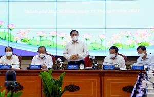 TP Hồ Chí Minh kiến nghị nhiều nội dung quan trọng với Thủ tướng Chính phủ