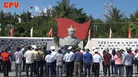 Tượng đài Đại tướng Võ Nguyên Giáp trên quần đảo Trường Sa
