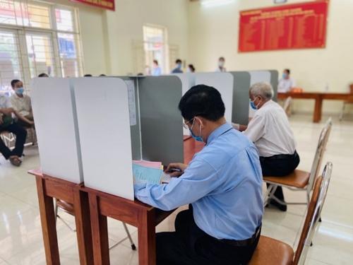 Quảng Ninh Diễn tập bầu cử ĐBQH và HĐND các cấp