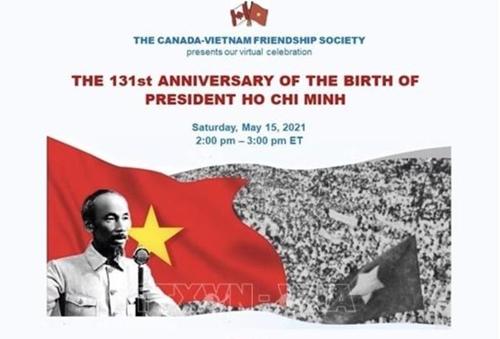 Hội thảo trực tuyến về Chủ tịch Hồ Chí Minh tại Canada