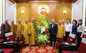 Chủ tịch Ủy ban Trung ương MTTQ Việt Nam gửi thư chúc mừng đồng bào Phật giáo cả nước