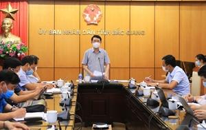 Bắc Giang Tạm dừng hoạt động 4 khu công nghiệp, huyện Việt Yên và 3 xã của huyện Yên Dũng