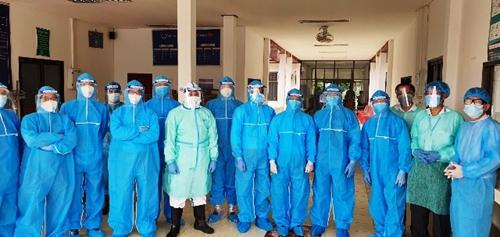 Bài 1 Hỗ trợ tỉnh Champasak phòng chống dịch bệnh hiệu quả, an toàn